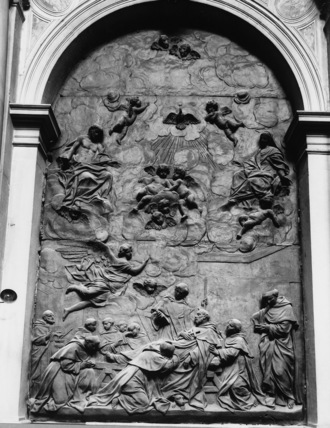 Church of SS Giovanni and Paolo;Death of Saint Dominic