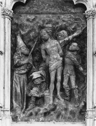 Crucifixion retable