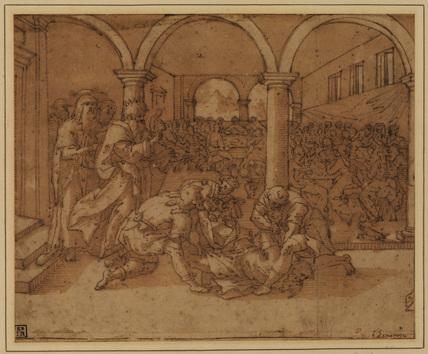 Scene at a banquet