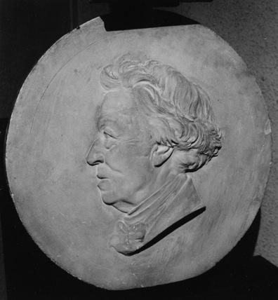 Medallion of Camille Corot