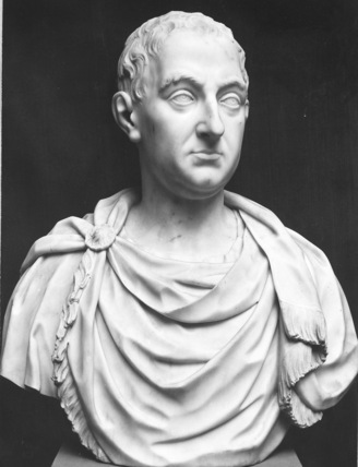 Bust of a member of the Shirley family