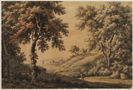 Italian landscape - imaginary view