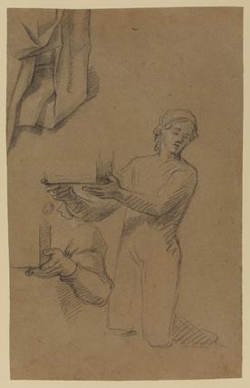 Figure and drapery studies