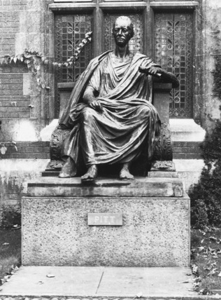 Statue of William Pitt