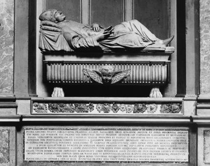 Sant'Agostino;Monument to Pietro Crypho