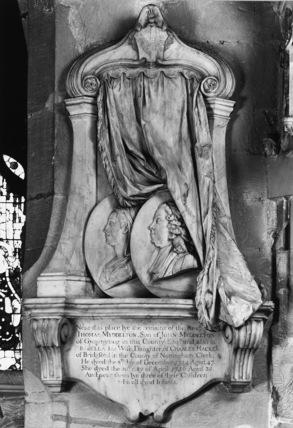 Monument to Thomas Myddelton and Arabella Myddelton