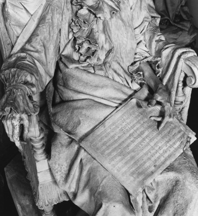Statue of Dying Mozart