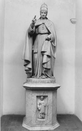 Church of Sant' Agostino;Statue of Pius II