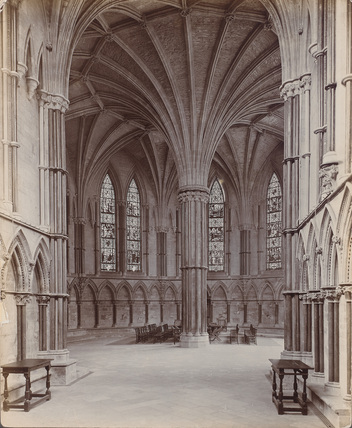 Lincoln Cathedral;Cathedral Church ;Chapter House