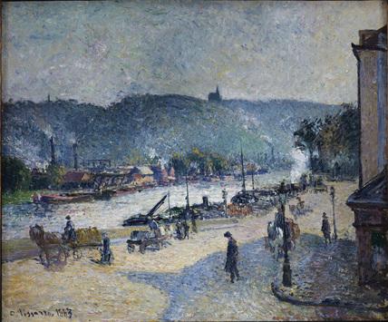Quays at Rouen