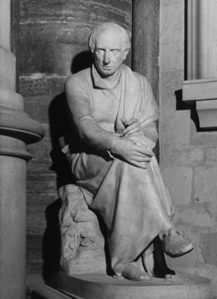 Westminster Abbey;Abbey Church;Statue of William Wordsworth