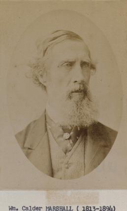 Portrait of William Calder Marshall
