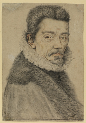 Bust portrait of a man