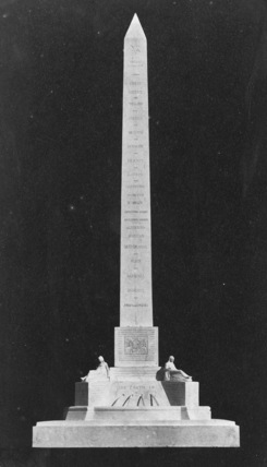 Design for an Obelisk in Memory of the Great Exhibitions of 1857
