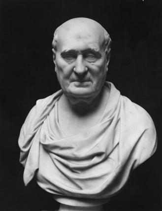Bust of John Carr