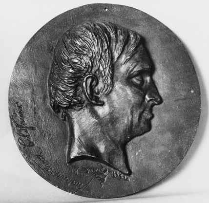 Medallion of Friedrich Tieck