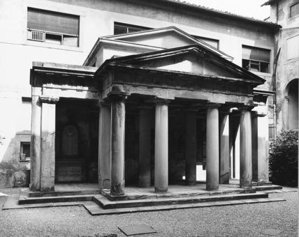 Arcispedale di Santa Maria Nuova;Chiostro della Ossa