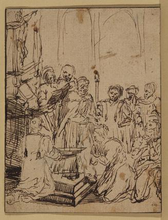 adult christening 1850s