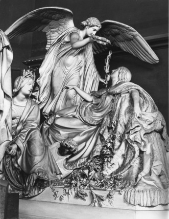 Model for the tomb of Louise, Queen of the Belgians, at Ostend