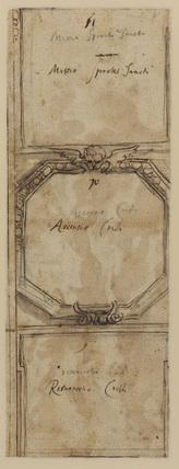 Ornamental decoration (verso)