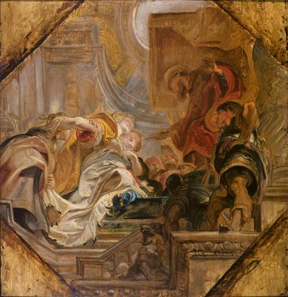 Esther before Ahasuerus
