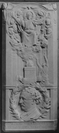St Paul's Cathedral;Memorial to Sir John Stainer