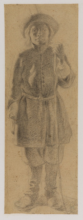 Standing figure of a young man