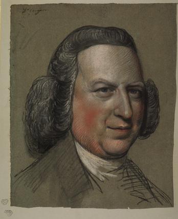 Portrait head of a man - Doctor Coriyers (?)
