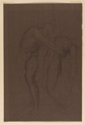 Study for 'Orpheus and Eurydice'