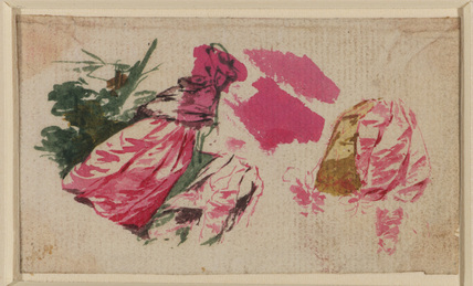 Study for drapery