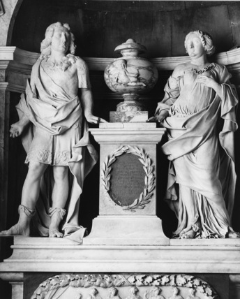 Monument to 3rd Viscount Campden