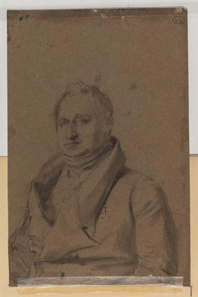 Portrait of a man (verso)