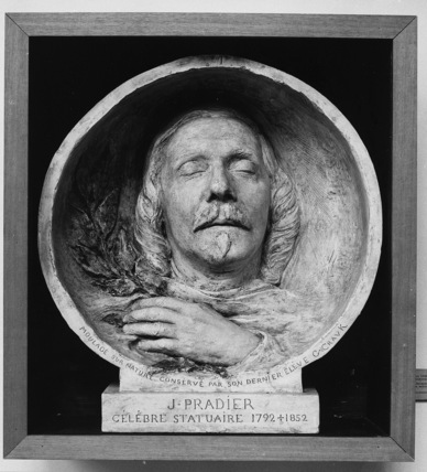 Death Mask of James Pradier