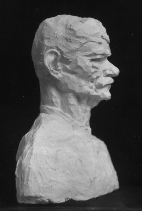 Bust of Frank Harris