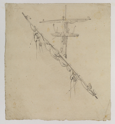 Mast of a sailing vessel