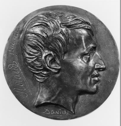 Medallion of Philippe Laurent Roland