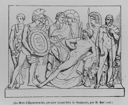 La Mort d'Epaminondas