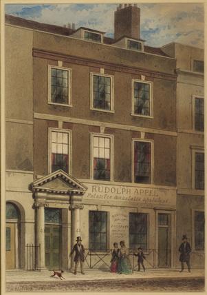 Exterior of 43 Gerrard Street, London