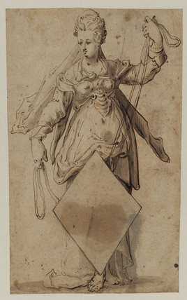 Allegorical female figure