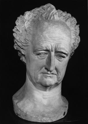 Colossal Head of Goethe