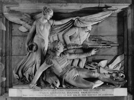 St Paul's Cathedral;Monument to Major General Daniel Hoghton