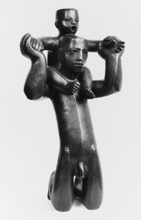 Maquette for Holding Kneeling Protecting