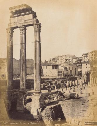 Roman Forum;Temple of  Castor