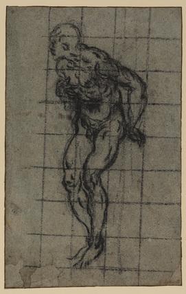 Nude figure (recto)