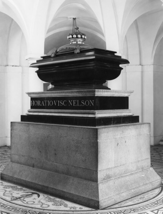 St Paul's Cathedral;The Crypt;Tomb of Horatio, Viscount Nelson
