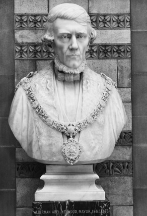 Bust of Abel Heywood