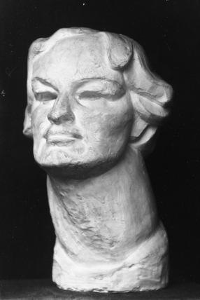 Bust of Enid Bagnold