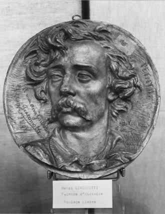 Medallion of Henri Giacomotti