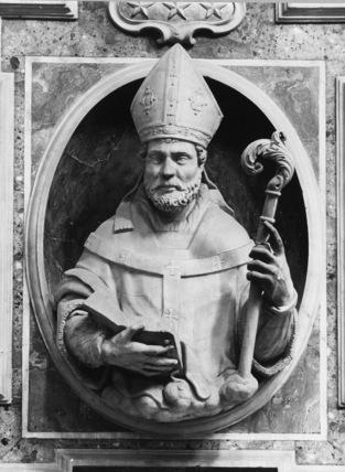 Bust of San Aggripino, Bishop of Naples