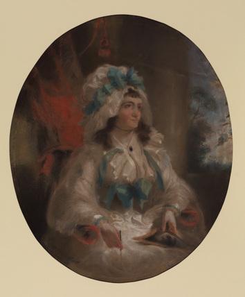 Portrait of Miss Hartley